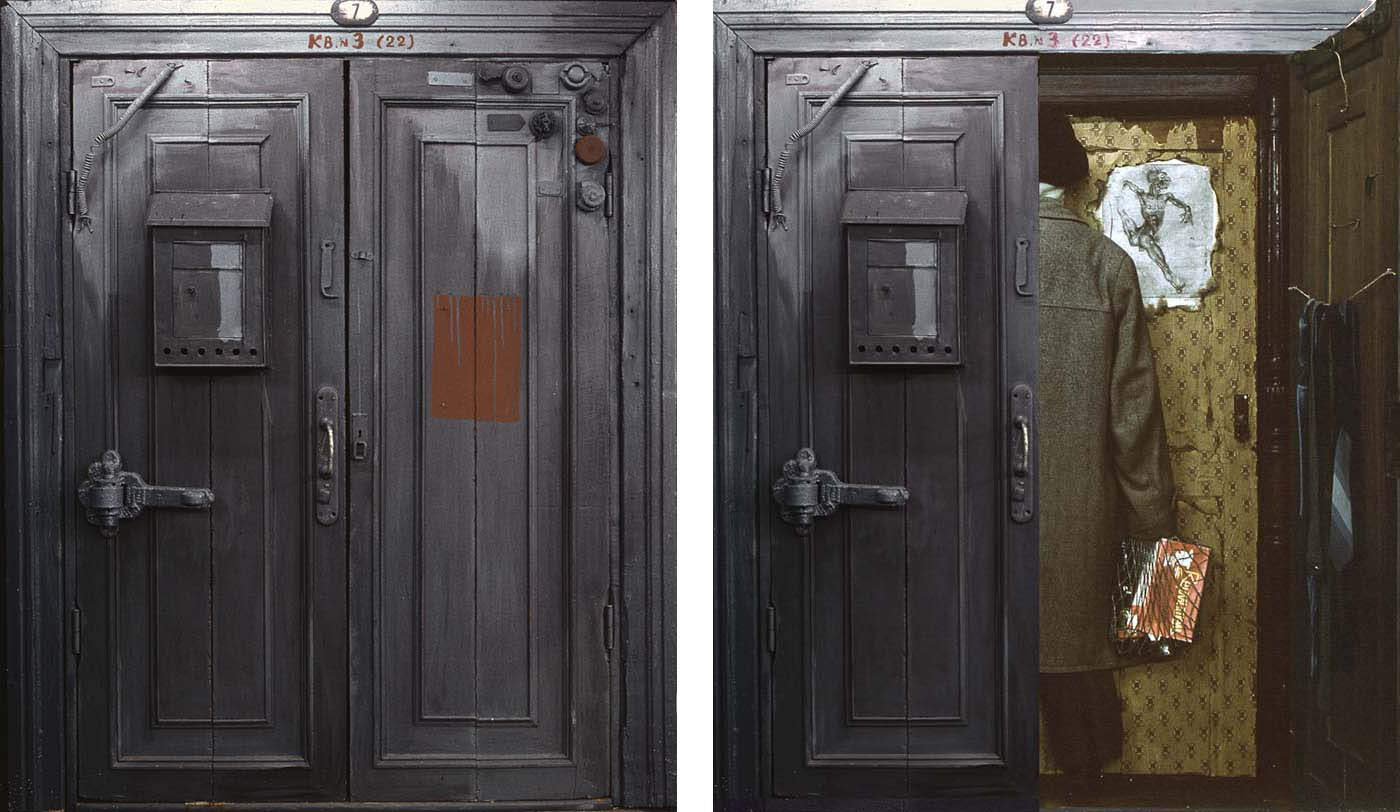 Door (Dedicated to the Parents of My Parents…). First and Second positions
