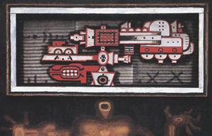 Prophet, 1967. Detail