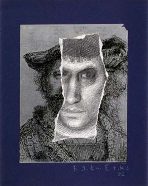 Self-portrait, 1992