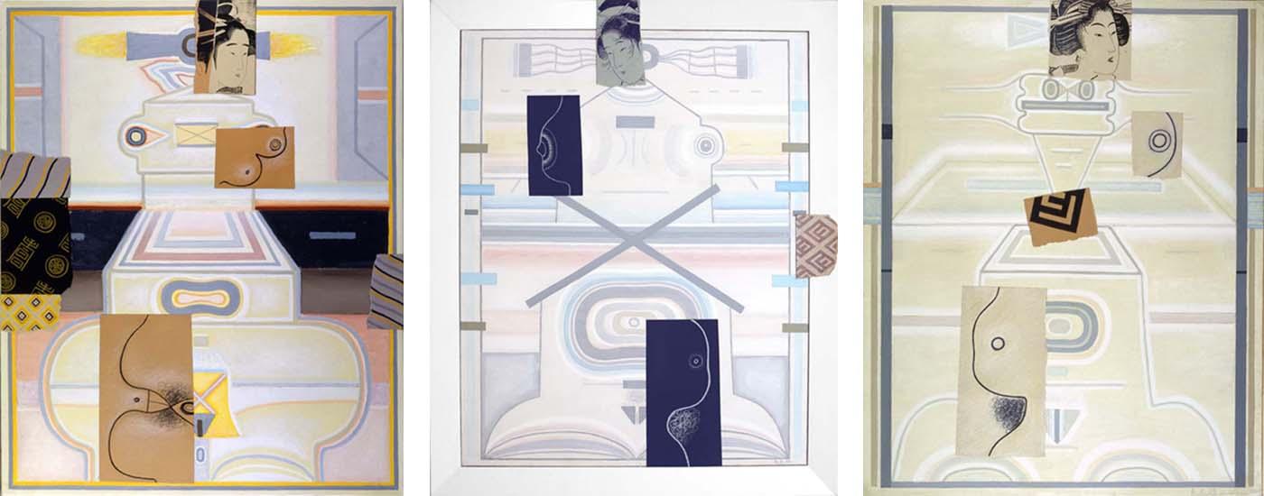 Woman by the Sea: Homage to Utamaro. II; Homage to Eishösai Chöki; Homage to Kikukawa Eizan, I