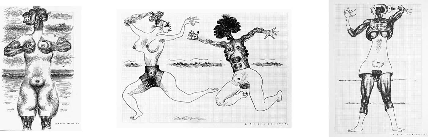 Travesty I; Persecution I; Masculine – Feminine